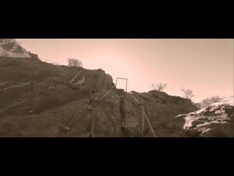 Picacho Peak, AZ. Climbing on the Cables.