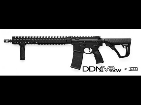 Daniel Defense DDM4V9LW 5.56mm Rifle (Unboxing and Review) AR-15