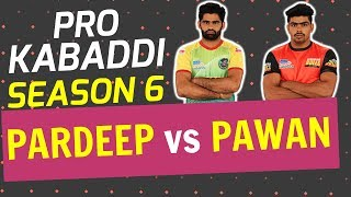 Pardeep Narwal vs Pawan Sehrawat | Based on Pro Kabaddi Season 6