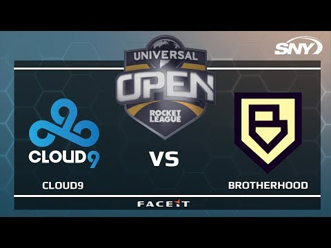 CLOUD9 vs BROTHERHOOD - Universal Open Rocket League