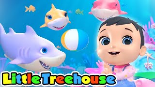 Baby Shark doo doo doo + More Nursery Rhymes & Kids Songs by Little Treehouse