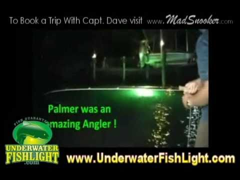 fly fishing for snook on an amazing underwater dock light with, Reel Combo
