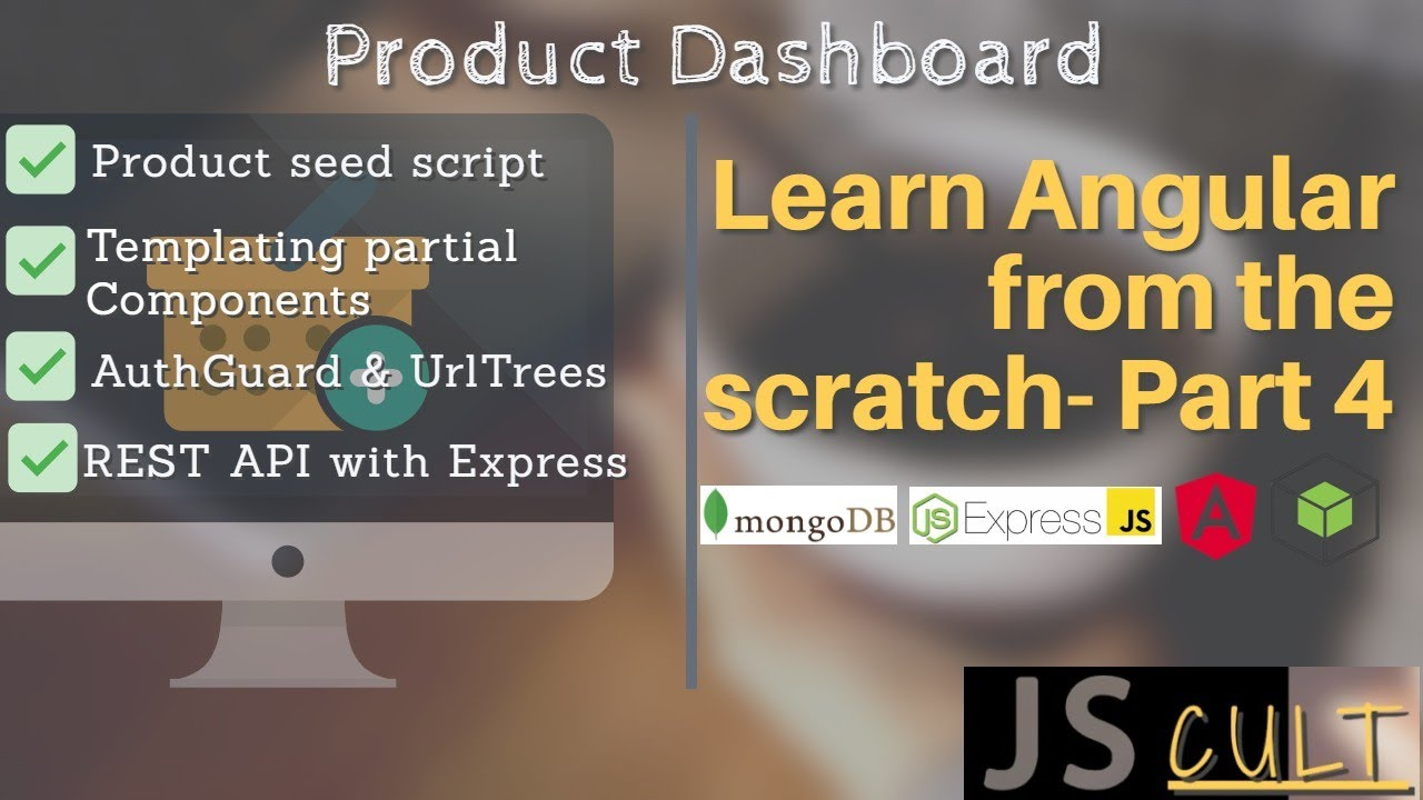 Download Product Dashboard | Learn Angular from the scratch - 4 | Angular 10 | MEAN | Mongoose seeder script
