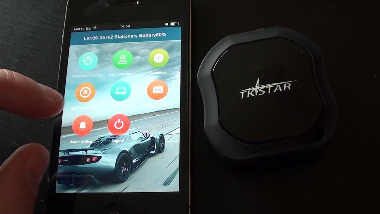 TK STAR Car Tracker Testing & Demonstration