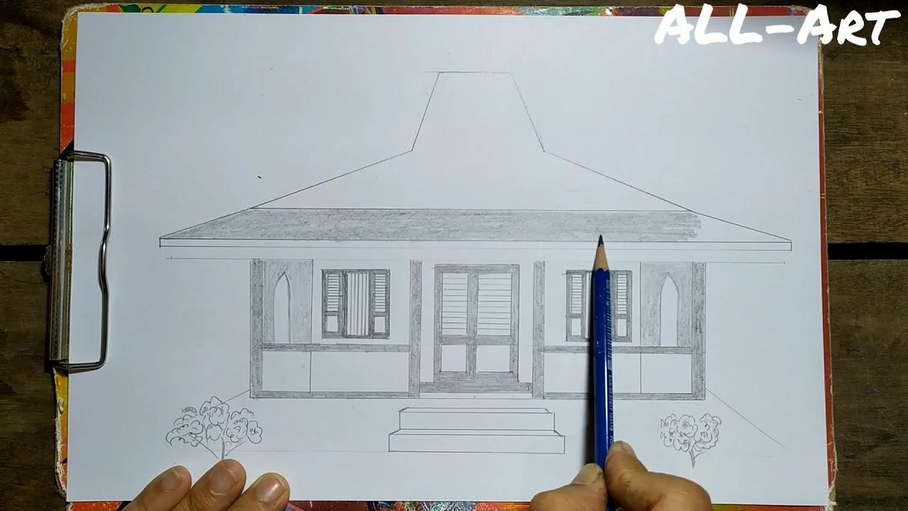 Cara Menggambar Adat Betawi Provinsi DKI Jakarta
