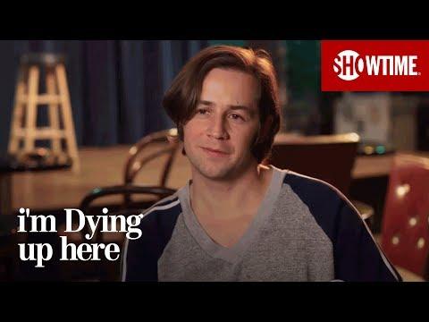 Michael Angarano on Eddie  I'm Dying Up Here  Season 1