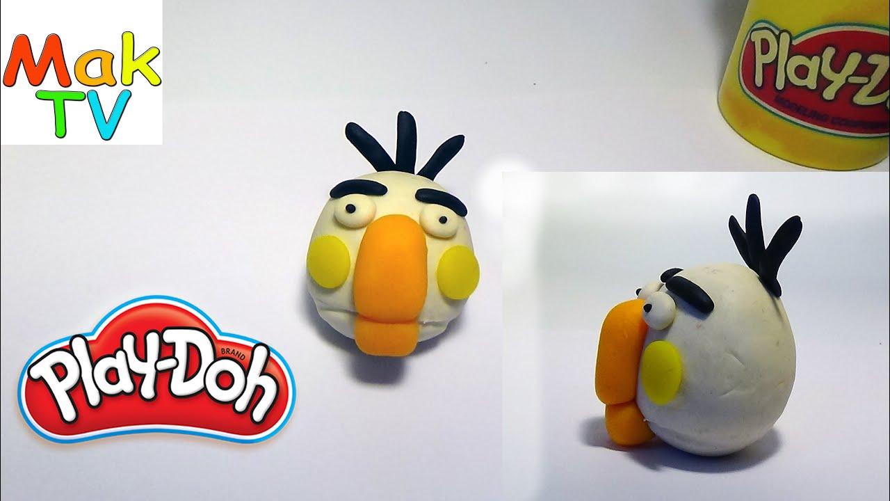 Как сделать из пластилина птичку фото 701