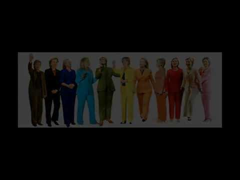Hillary Clinton Fashion Evolution Through The Ages