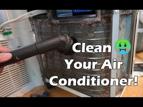 How to Clean a Portable Air Conditioner