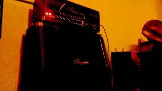 Euthanazor  - (playthrough) -  SLAYER -  Raining blood -  AMP TEST - BUGERA333XL