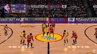 NBA ShootOut 98 PS1 Gameplay HD