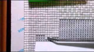 Алмазная мозайка , процесс выкладывания