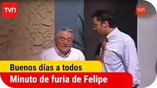 Minuto de furia de Felipe Camiroaga