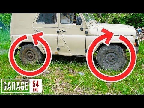 Can flipping the axle break an UAZ apart