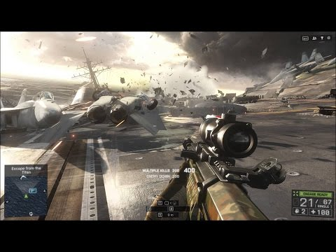 Battlefield 4 Campaign Chapter 3 South China Sea No Commentary 1080p 60fps