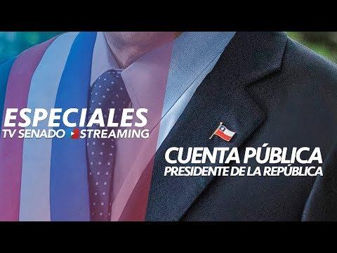 Especial Tv Senado - Cuenta Pública - Presidente de la República