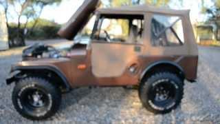 1965 Willyz CJ5, 4x4 Classic, Vintage Offroad Hunting Jeep, 327 V8