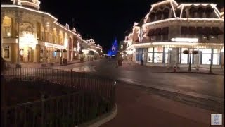Late Night Magic Kingdom. Shopping and a Kiss Goodnight