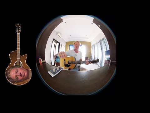 Slide Mix Up Virtual Reality 360 Music Video by Ylia Callan Guitar