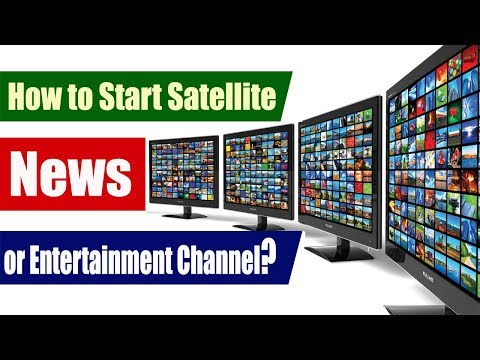 How to start satellite channel in India (All Process)