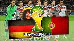 WM 2014 | DEUTSCHLAND 4 : 0 PORTUGAL - 16. Juni - GRUPPE G - WM LEMUREN & LOCKE PROGNOSE