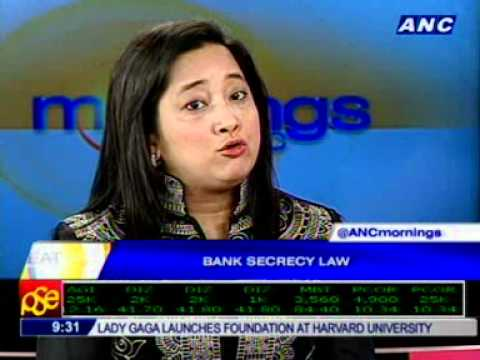 [ANC Mornings] On on bank secrecy law in PH