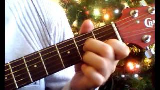 Песенка Умки. Елочка, елка. Аккорды на гитаре