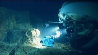 Imagens, Inéditas Titanic no fundo do mar em 2018