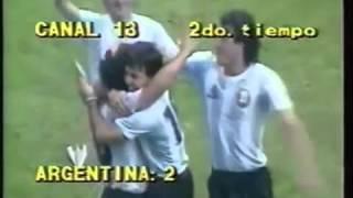 Los 7 mejores goles de Maradona en Argentina