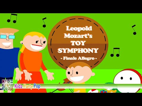 """Mozart """"Toy Symphony"""": III Finale. Allegro 