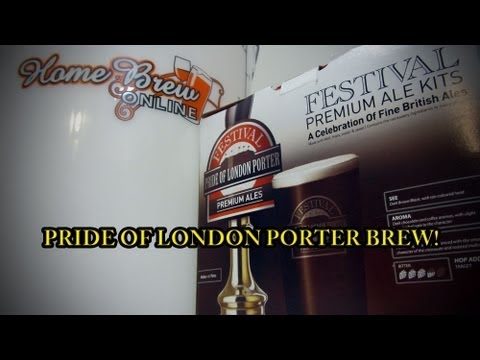 Easy home brewing - Pride of London Porter!