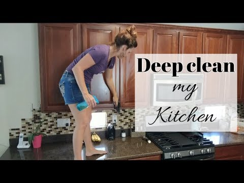 DEEP CLEAN WITH ME / CLEANING CABINETS