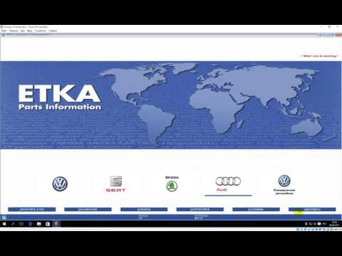 HOW TO INSTALL ETKA ELECTRONIC PARTS CATALOG WINDOWS 10