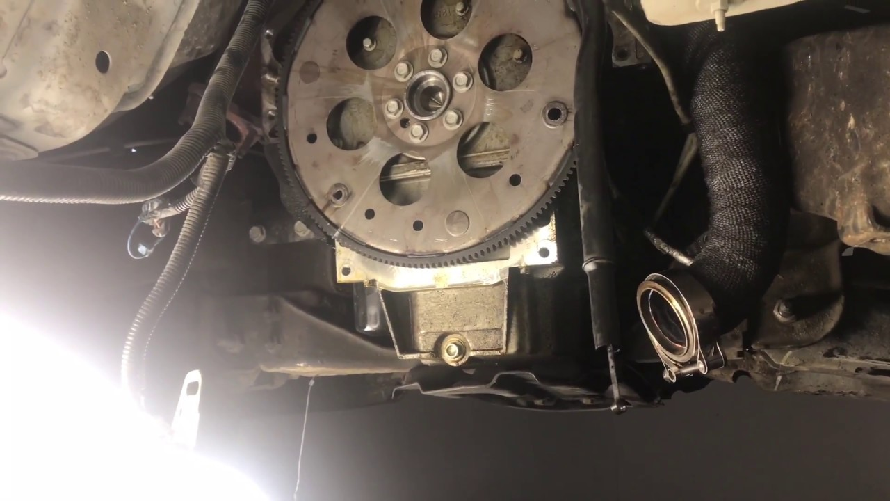 hight resolution of removing transmission on silverado
