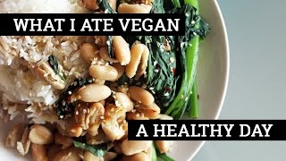 WHAT I ATE IN A DAY VEGAN #65 // Beans, Greens, + Insta Inspo | Mary's Test Kitchen