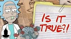 Rick's Suicide Helmet Theory - Rick's Helmet Explained?! - Cartoon Conspiracy (Ep. 175)