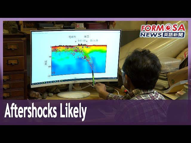 Aftershocks expected after Sunday's magnitude 6.5 earthquake