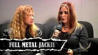 Dean Guitars N.A.M.M. 2015 Highlights -  Dave Mustaine Interview w/Full Metal Jackie Part 2 of 2