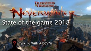Neverwinter: state of the game 2018