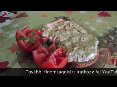 Padlizsánkrém recept ( Magyar )