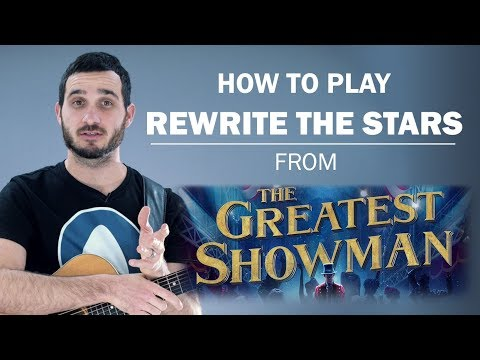 how to play the otherside on guitar the greatest showman