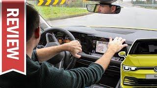 VW Golf 8: Touch-Bedienung während der Fahrt 😬 Cockpit als (Nicht-)Kaufgrund? Test & Review