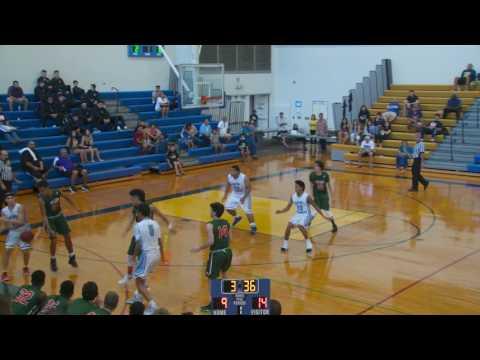 2016 Punahou Boys Basketball Invitational - Saint Francis vs Wilson (December 29, 2016)