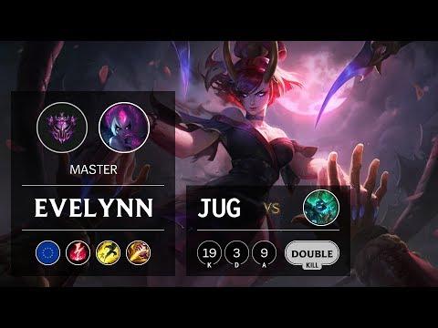 Evelynn Jungle vs Hecarim - EUW Master Patch 9.9