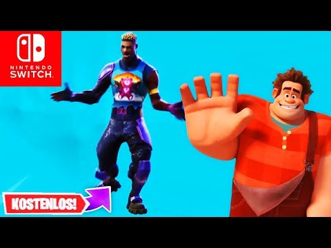 NEU! Gratis Emote Hot Marat + Ralph Reichts Hinweis | Fortnite Switch