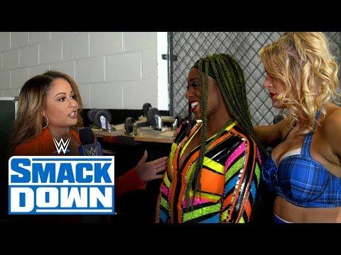 Naomi \u0026 Lacey Evans happy to team up against Bayley \u0026 Banks: SmackDown Exclusive, Feb. 28, 202..