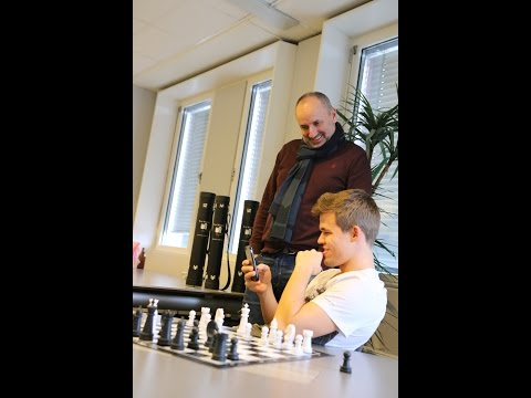 Magnus Carlsen Plays Chess with Magnus Age 9 on Play Magnus App