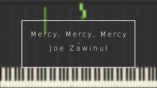 Mercy, Mercy, Mercy - Joe Zawinul [Synthesia]