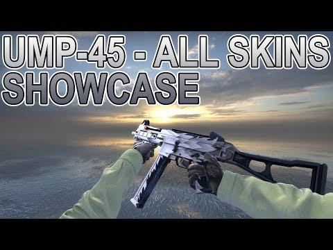 CS:GO | UMP-45 - All Skins Showcase + Prices 2018
