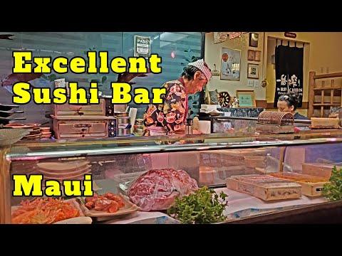 Oku's Sushi Bar At Kobe Steak House Lahaina Maui. Excellent Sushi Bar.